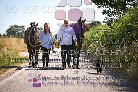 Sally & Philip Equine Portrait Photoshoot 08-07-2018