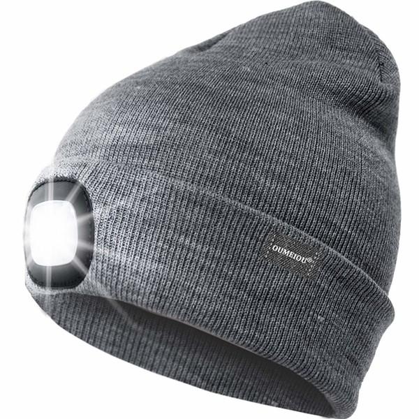 best carp fishing gift beanie with headlamp