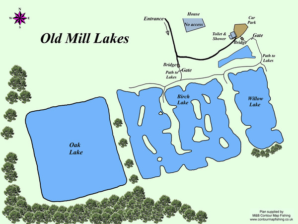 fishing near me old mill lakes
