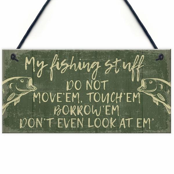 best carp fishing gift sign