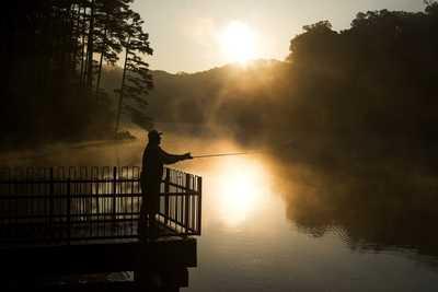 river pike fishing