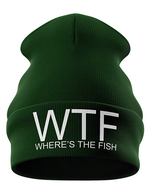 best carp fishing gift funny beanie