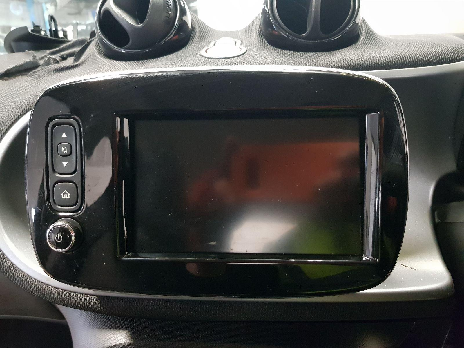 Smart Forfour 2015 On Multi Function Display Unit (Petrol