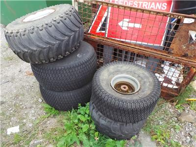OTHER BRITISH JCB GROUNDHOG WHEELS