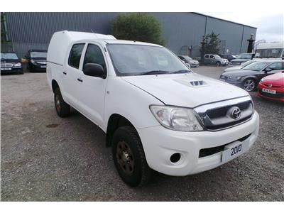2010 Toyota Hilux 2.5 AHL24 2499 Diesel Manual 5 Door 4x4