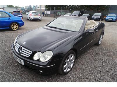 2004 Mercedes-Benz CLK Class 320 Elegance Petrol Automatic 2 Door Cabriolet