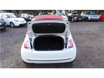 2011 Fiat 500 Pop 1242 Petrol Manual 5 Speed 2 Door Cabriolet