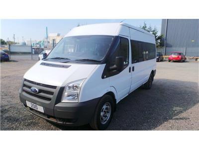 2010 Ford Transit 13 SEAT MINIBUS 100L15M6 Diesel Manual Van