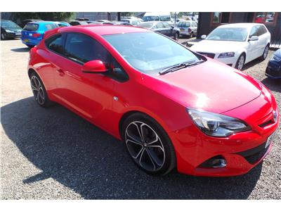 2014 Vauxhall Astra Limited Edition CDTi Diesel Manual 3 Door Coupe