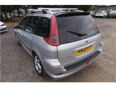 2006 Peugeot 206 SW Verve HDi Diesel Manual 5 Door Estate