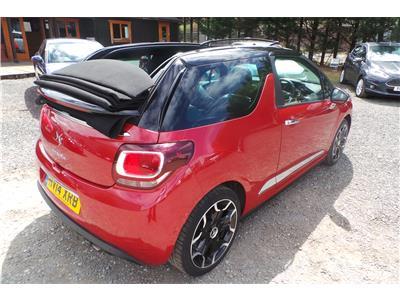 2014 Citroen DS3 DSport Plus THP Petrol Manual 2 Door Cabriolet