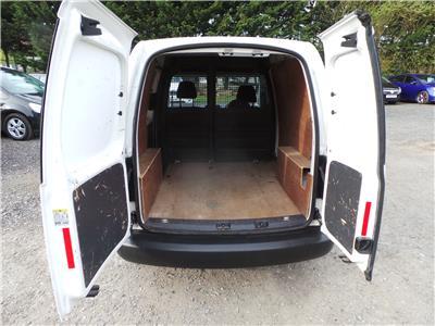 2015 Volkswagen Caddy Startline TDi Bluemotion Diesel Manual Van L/Side