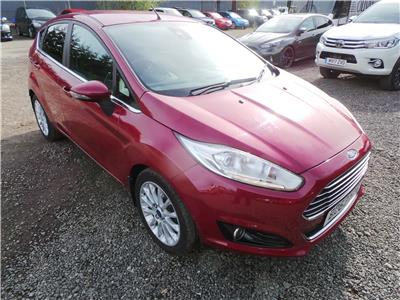 Ford Fiesta 2013 To 2017 Style 5 Door Hatchback
