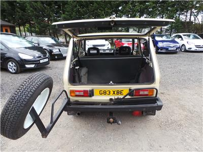 1990 Lada  Niva COSSACK 4WD Petrol Manual 5 Speed 3 Door Estate