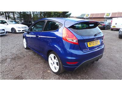 2010 Ford Fiesta S1600 1596 Petrol Manual 5 Speed 3 Door Hatchback