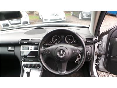 2008 Mercedes-Benz CLC Class 180 SE Kompressor 1796 Petrol Automatic 5 Speed 3 Door Coupe
