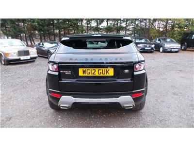 2012 Land Rover Range Rover Dynamic SD4 4WD 2179 Diesel Manual 6 Speed 3 Door Estate