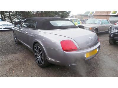 2006 Bentley  Continental GTC 5998 Petrol Automatic 6 Speed 2 Door Cabriolet
