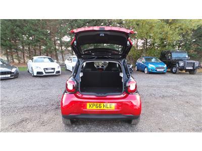 2016 Smart Forfour Passion 999 Petrol Manual 5 Speed 5 Door Hatchback