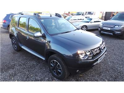 2016 Dacia  Duster Prestige dCi 1461 Diesel Manual 6 Speed 5 Door SUV