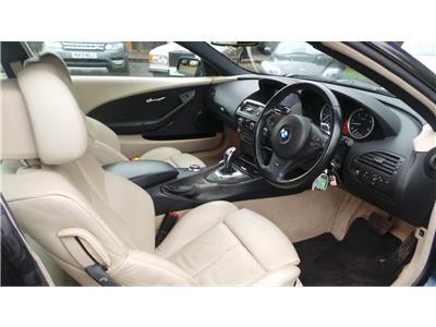 2008 BMW 6 Series 635d Sport 2993 Diesel Automatic 6 Speed 2 Door Coupe