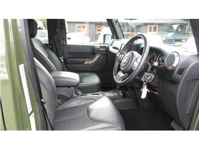 2016 Jeep Wrangler 75th Anniversary 3604 Petrol Automatic 5 Speed 4 Door 4x4
