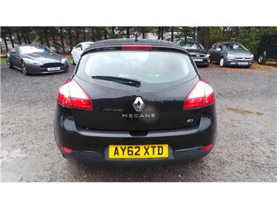 2012 Renault Megane Dynamique TomTom 1461 Diesel Manual 6 Speed 5 Door Hatchback