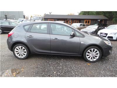 2012 Vauxhall Astra Active 1398 Petrol Manual 5 Speed 5 Door Hatchback