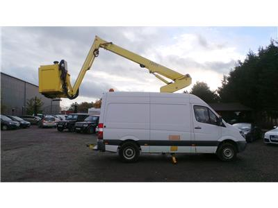 2010 Mercedes-Benz Sprinter 413 CDI 2143 Diesel Manual