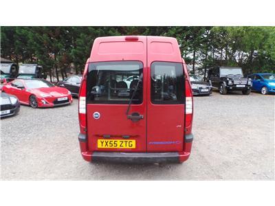2005 Fiat Doblo Dynamic JTD 1910 Diesel Manual 5 Speed M.P.V.