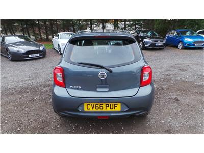 2016 Nissan Micra Acenta 1198 Petrol CVT 1 Speed 5 Door Hatchback