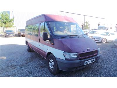 2004 Ford Transit 350 LWB Medium Roof 2402 Diesel Manual 5 Speed L.C.V.