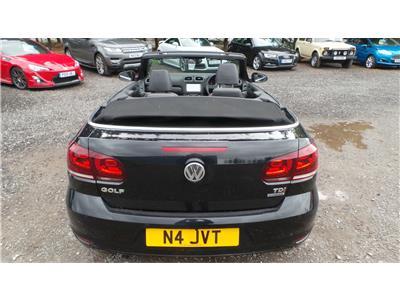 2011 Volkswagen Golf S TDi BMT 1598 Diesel Manual 5 Speed 2 Door Cabriolet