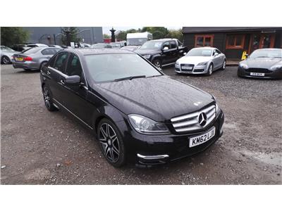 2012 Mercedes-Benz C Class C250 AMG Sport Plus CDi BlueEf 2143 Diesel Automatic 7 Speed 4 Door Saloon