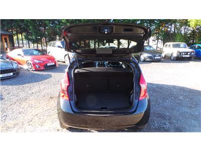2014 Nissan Note Acenta 1198 Petrol Manual 5 Speed 5 Door Hatchback