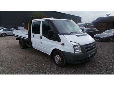 2011 Ford Transit 350EF Jumbo DRW LWB High Roof 2402 Diesel Manual 5 Speed L.C.V.
