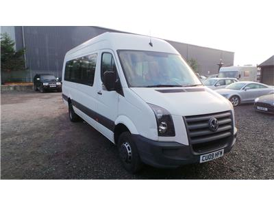 2009 Volkswagen Crafter CR50 LWB MAXI TDI DAY 2461 Diesel Manual M.P.V.