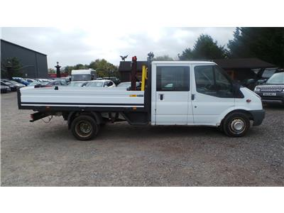 2011 FORD TRANSIT 350 E/F DRW 2402 DIESEL MANUAL CHASSIS CAB