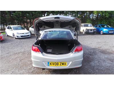 2008 Vauxhall Astra Twin Top Design Petrol Manual 2 Door Cabriolet