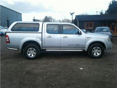 2008 Ford Ranger DOUBLE CAB 4X4 THUNDER 2499 Diesel Manual 5 Speed Pick-Up