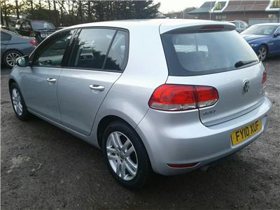 2010 Volkswagen Golf SE TDi 1968 Diesel Manual 6 Speed 5 Door Hatchback