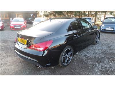 2015 Mercedes-Benz CLA 180 AMG Sport 1595 Petrol Automatic 7 Speed 4 Door Saloon