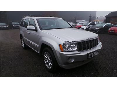 2006 Jeep Grand OVERLAND V8 5654 Petrol Automatic 5 Speed 5 Door Estate