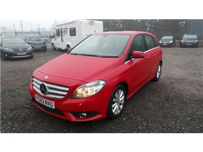 2012 Mercedes-Benz B Class B180 SE 1796 Diesel Automatic 7 Speed 5 Door Hatchback