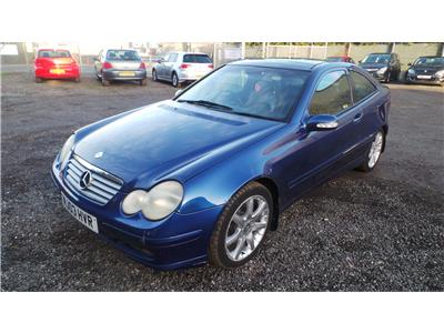 2003 Mercedes-Benz C Class C230k SE 1796 Petrol Sequential Automatic 5 Speed 3 Door Coupe
