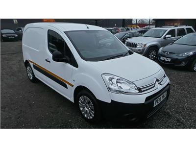 2015 Citroen Berlingo L1 625 Enterprise HDi 75 SWB 1560 Diesel Manual 5 Speed Van L/Side