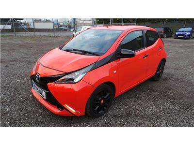 2015 Toyota Aygo x-cite VVT-i 998 Petrol Manual 5 Speed 5 Door Hatchback