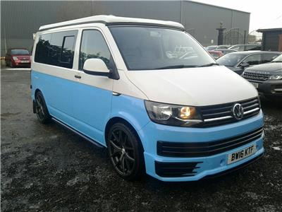 2016 Volkswagen Transporter T28 Startline TDi BMT SWB 1968 Diesel Manual 5 Speed Van L/Side