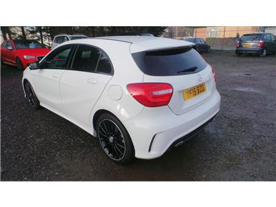 2015 Mercedes-Benz A Class A220 AMG Night Edition CDi 2143 Diesel Automatic 7 Speed 5 Door Hatchback