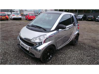 2008 Smart Fortwo Pure 999 Petrol Automatic 5 Speed 2 Door Cabriolet